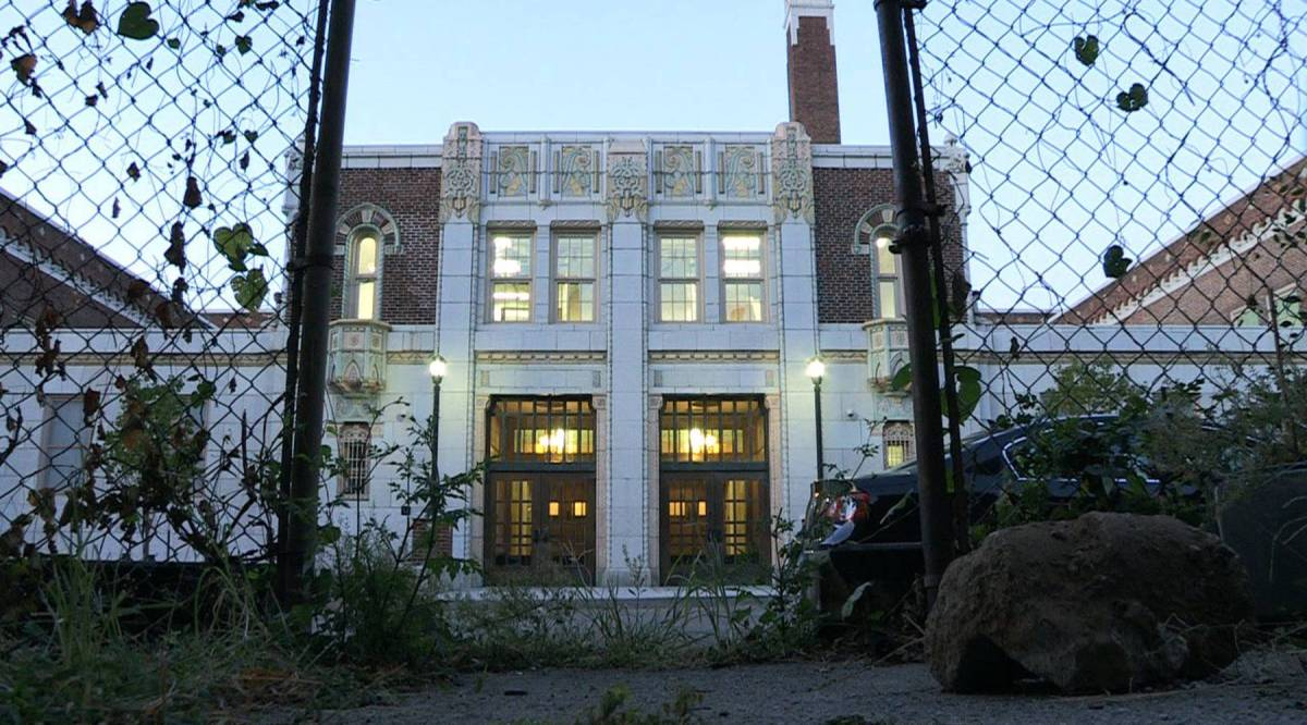 How much can a school remake the neighborhood it's in?