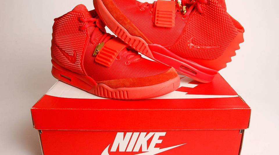 Shoes like the Nike Air Yeezy 2 can be found on the new sneaker stock market...for thousands of dollars.