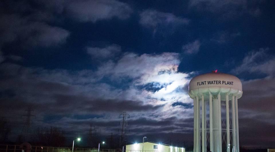 Flint schools still have to use bottled water.