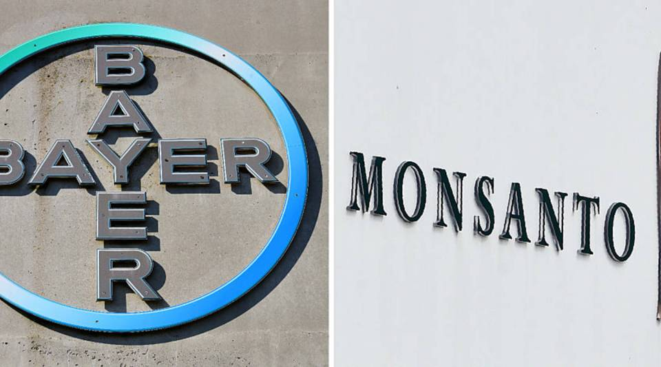 The German company Bayer AG is buying Monsanto in a deal worth about $66 billion, including debt.
