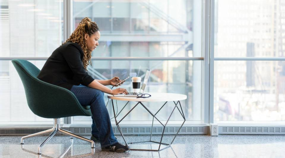 Women of color account for three percent of employees at the senior executive level, the study found.