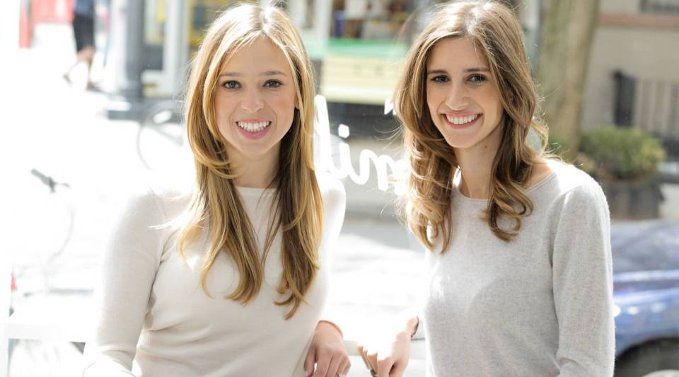 Danielle Weisberg and Carly Zakin, founders of theSkimm.