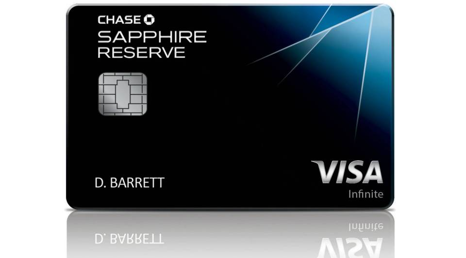 The Chase Sapphire Reserve card joins the company's line of premier rewards cards.