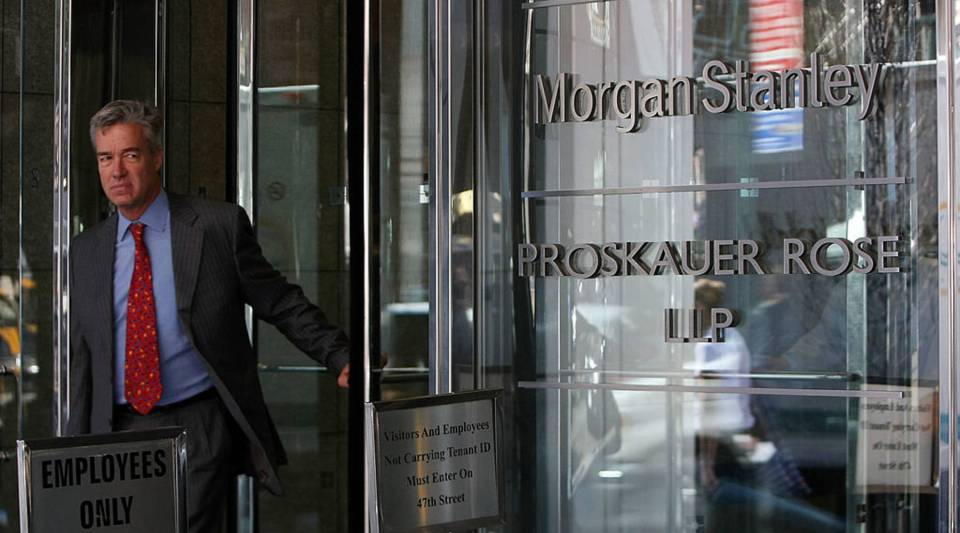 Morgan Stanley reported better-than-expected profit for the third quarter.