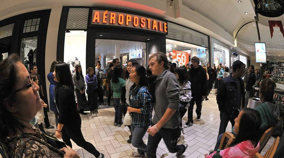"""Aeropostale is one company that has plans to move away from """"on-call"""" scheduling."""