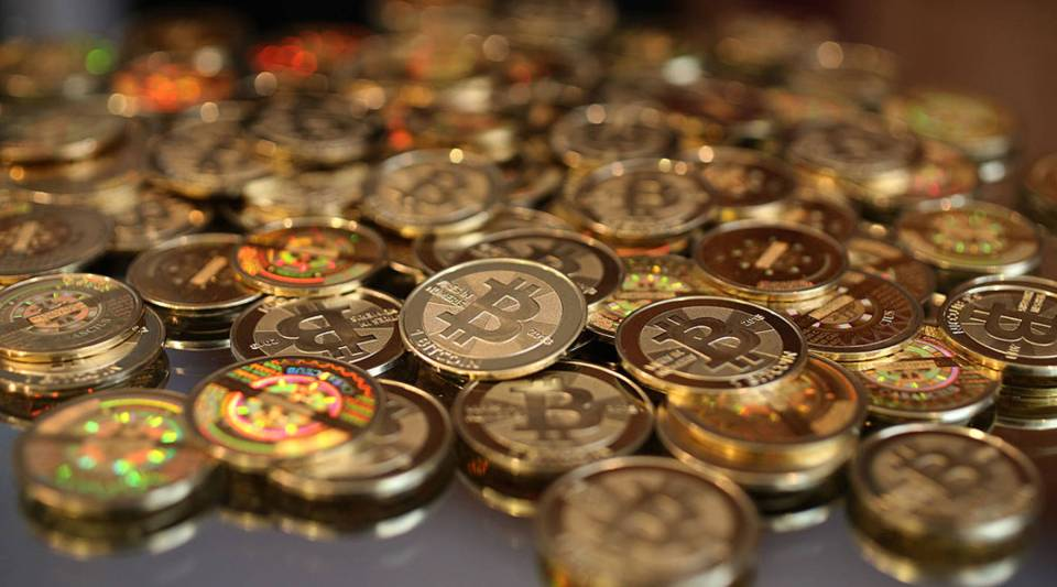 Behold a pile of bitcoins.