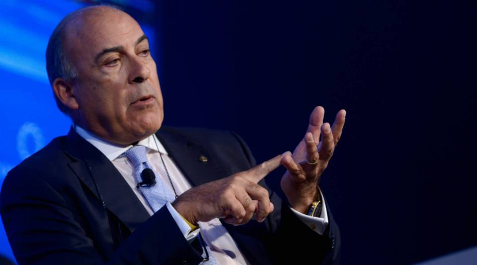 Chairman and CEO of the Coca-Cola Company Muhtar Kent speaks on stage during a summit in New York last year.
