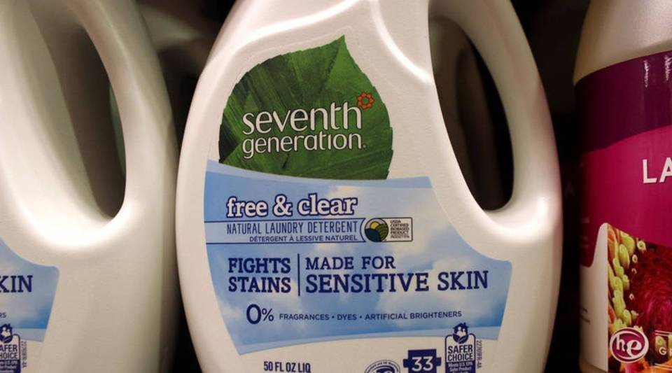 The Vermont-based company Seventh Generation is a mission-driven producer of natural homecare products.