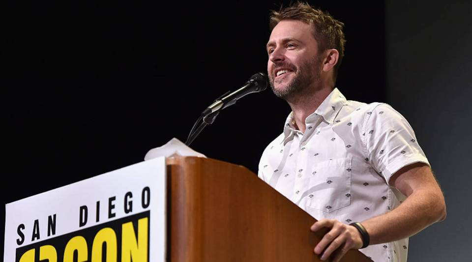 SAN DIEGO, CA - JULY 23: Moderator Chris Hardwick attends the San Diego Comic-Con International 2016 Marvel Panel in Hall H on July 23, 2016 in San Diego, California. ©Marvel Studios 2016