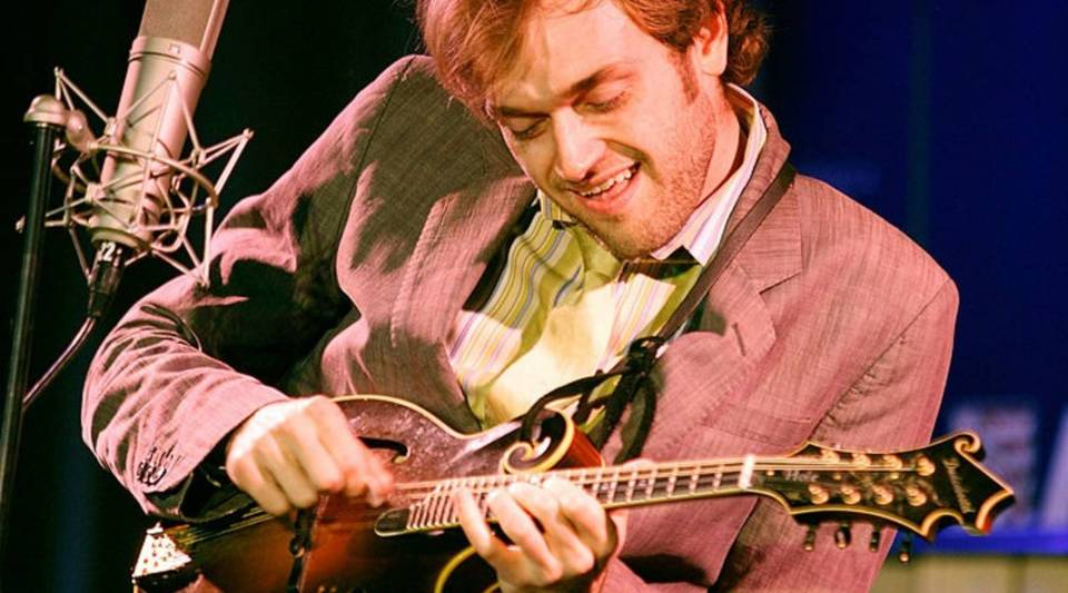 Chris Thile fell in love with the mandolin when he was just two years old.