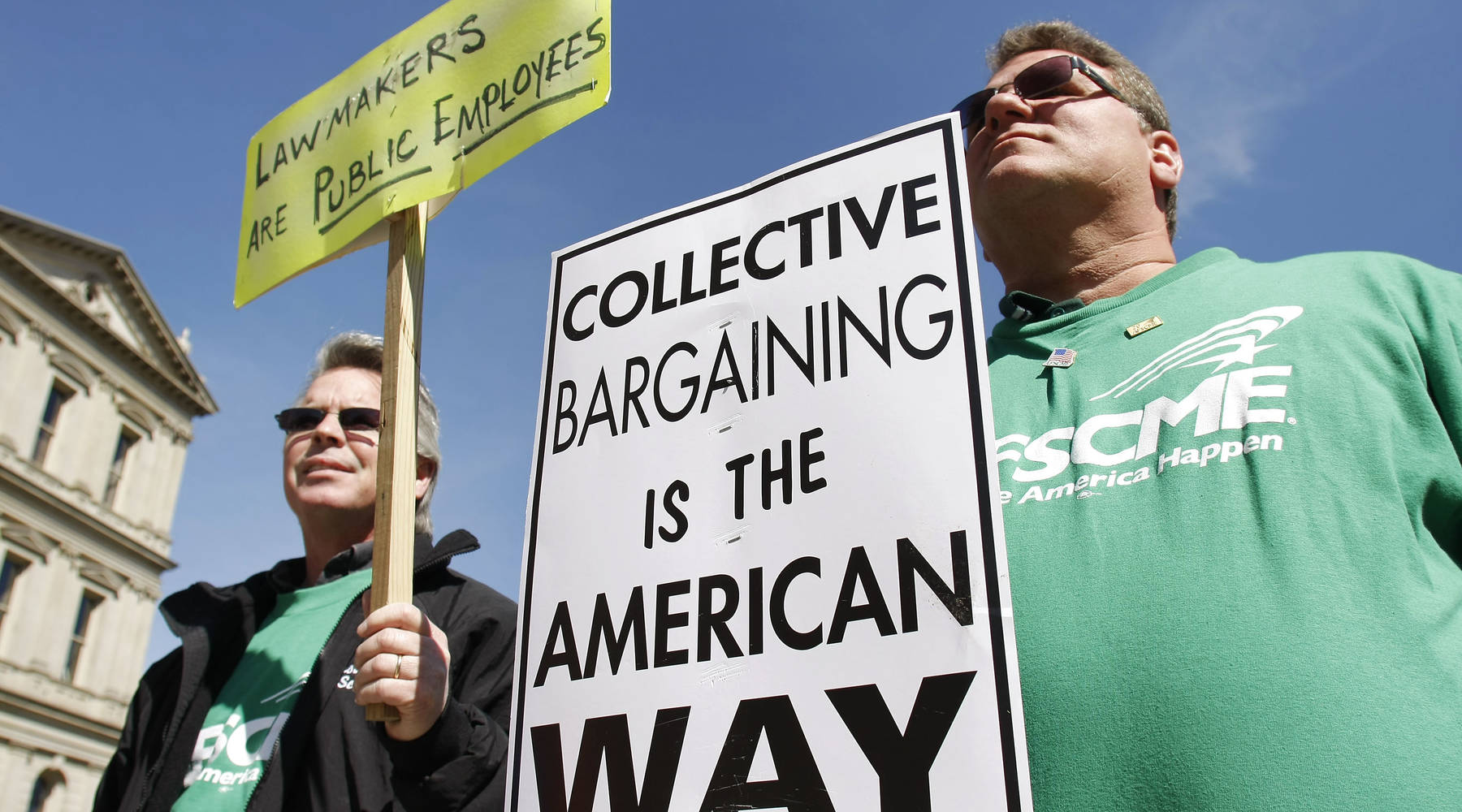 Why unions are so worried about right-to-work laws - Marketplace