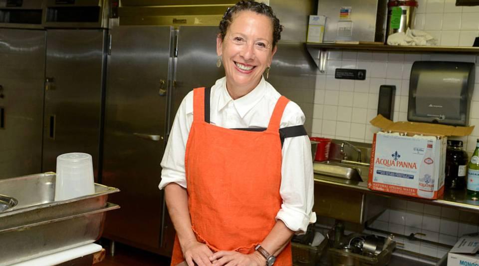 Chef Nancy Silverton.