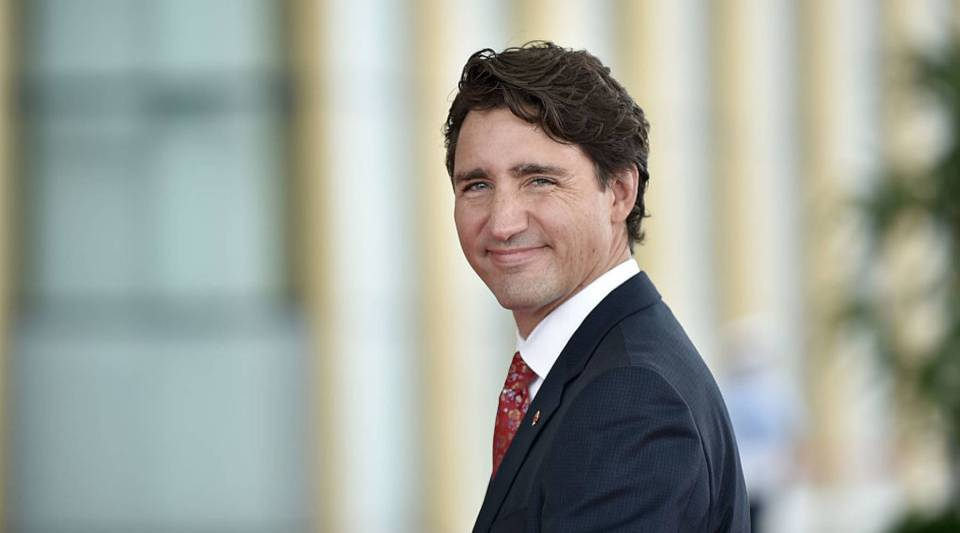 Canadian Prime Minister Justin Trudeau on a visit to China last year. Next week, Trudeau is meeting with President Donald Trump.