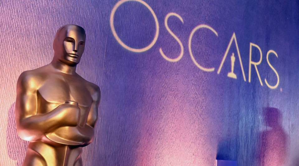 Decorations are displayed at the 89th Annual Academy Awards Nominee Luncheon.