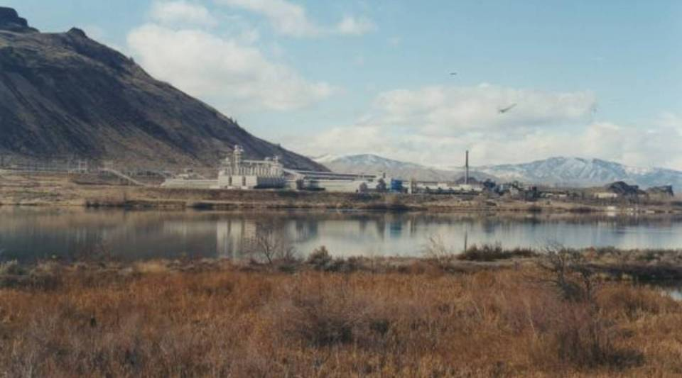 Alcoa's aluminum smelter in Wenatchee, Wash., idled since early 2016, was built in 1952. It's adjacent to the Rock Island Dam, built in the 1930s to produce hydroelectric power.