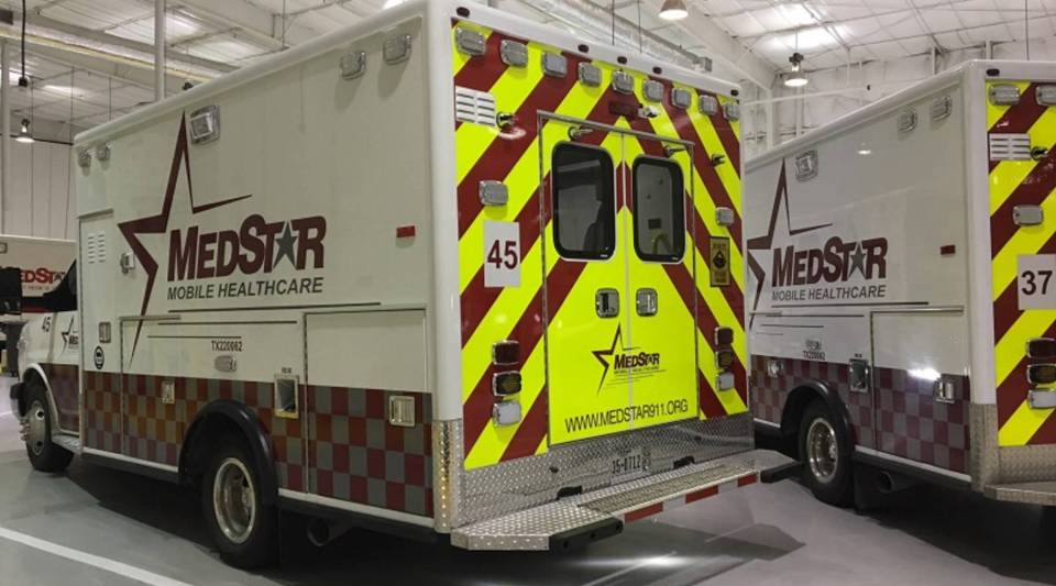 MedStar still has a fleet of traditional ambulances, but community paramedics drive sedans for home visits.