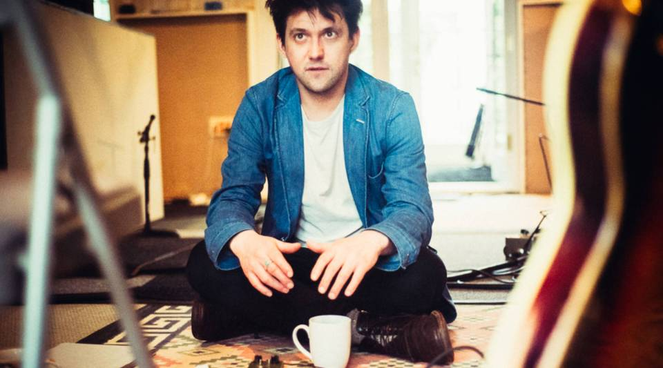 Conor Oberst has a carousel horse in his living room.