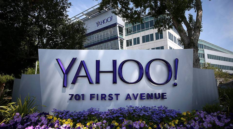 A view of Yahoo's headquarters in Sunnyvale, California.