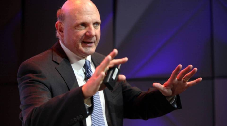 """""""Every day the government will spend money or receive money from taxpayers or it won't. And ultimately, I think people really do care as budgets get prepared, as people like to keep their jobs,"""" Steve Ballmer said."""