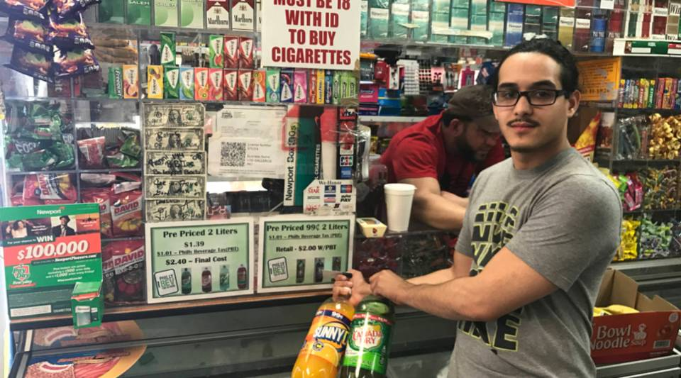 """""""People are angry and furious,"""" says Frayby Perelta, who runs a small family-owned store."""