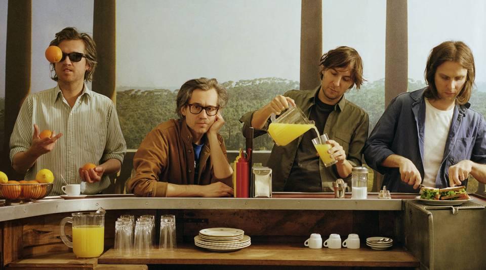 Phoenix, from left: Christian Mazzalai, Laurent Brancowitz, Thomas Mars and Deck D'Arcy.