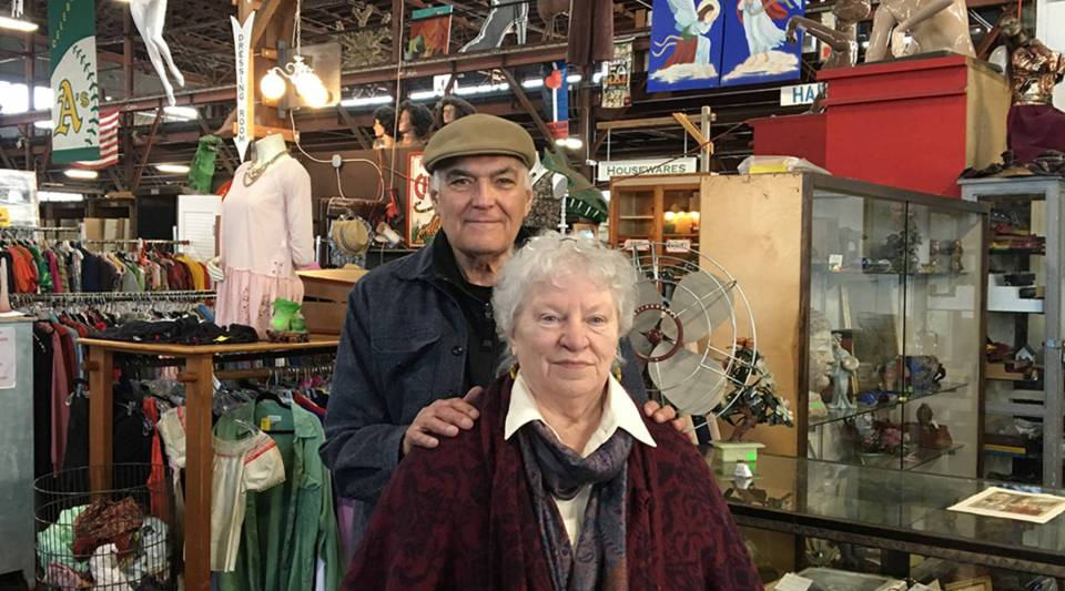 For 36 years Dan Knapp and Mary Lou Deventer have made money out of  other peoples' trash.