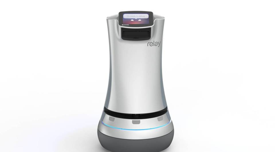 Meet Relay, a hospitality robot designed by Savioke.