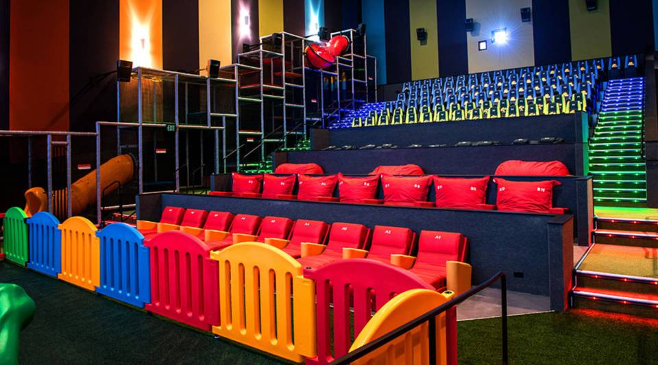 Features like brightly colored seats can set theaters apart, says Tim Barr, CEO of Ferco Seating.