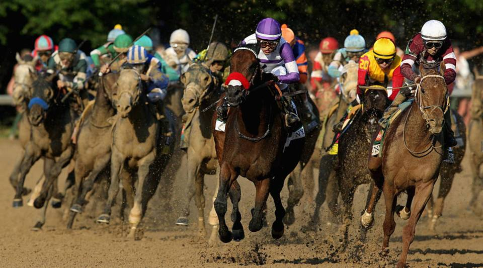 A view of last year's Kentucky Derby at Churchill Downs.