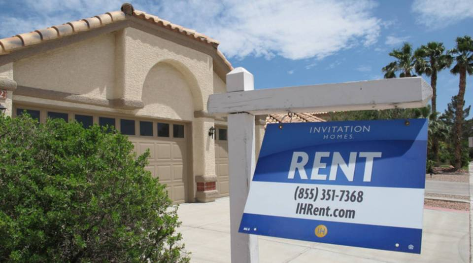 A rental home owned by Invitation in Las Vegas, NV.