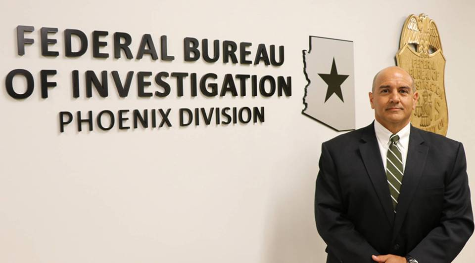 Michael DeLeon is special agent in charge of the FBI Phoenix division.