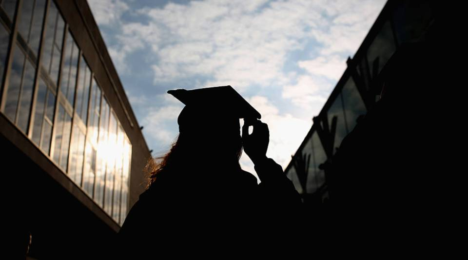 About 60 percent of those who went to college had to take out student loans to pay for it.