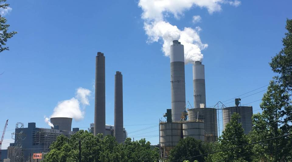 The James H. Miller Jr. Electric Generating Plant is a massive coal-fired plant that also is the nation's top emitter of greenhouse gases.