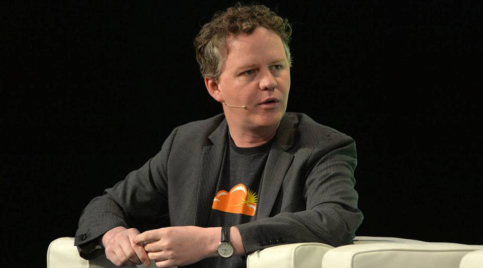 Matthew Prince, CEO of Cloudflare, says the company has tried to be neutral.