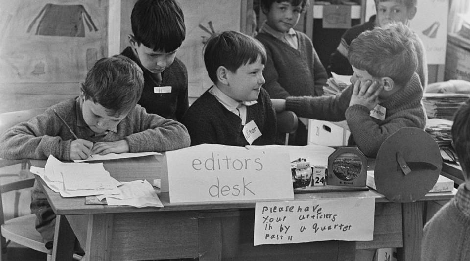 If Marketplace staff brought their kids to work and we lived in the 1960s.