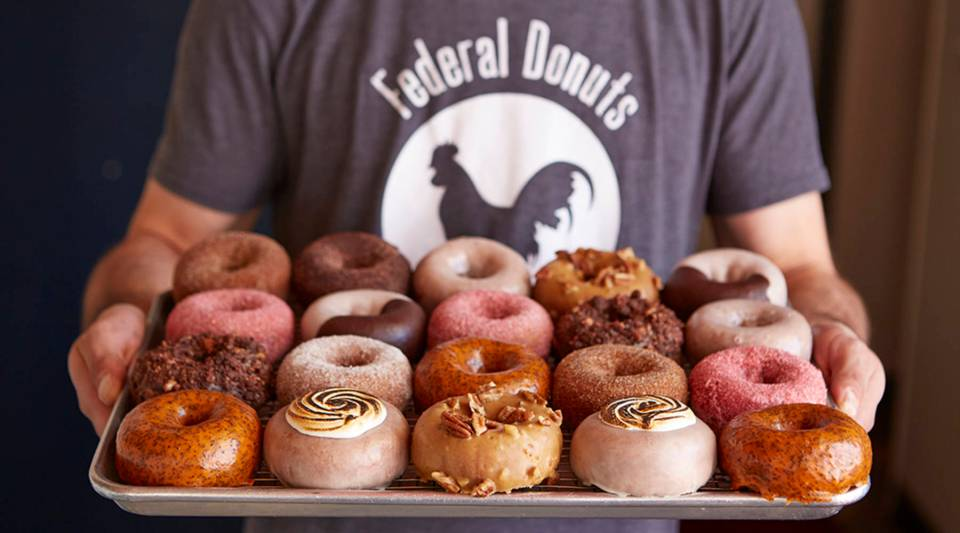 """""""The beauty of Federal Donuts is that the financial success really came second,"""" said Steven Cook."""