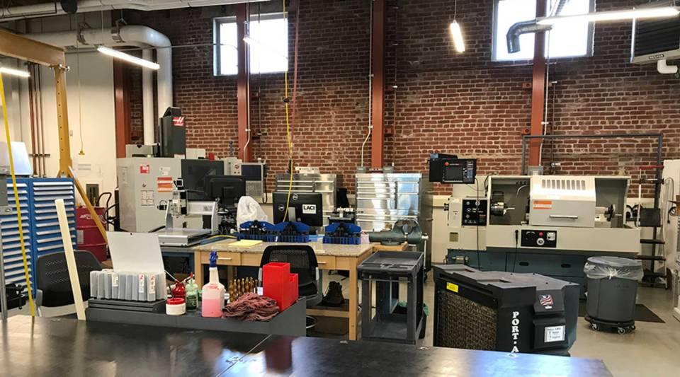 LA Cleantech Incubator's Advanced Prototyping Center.