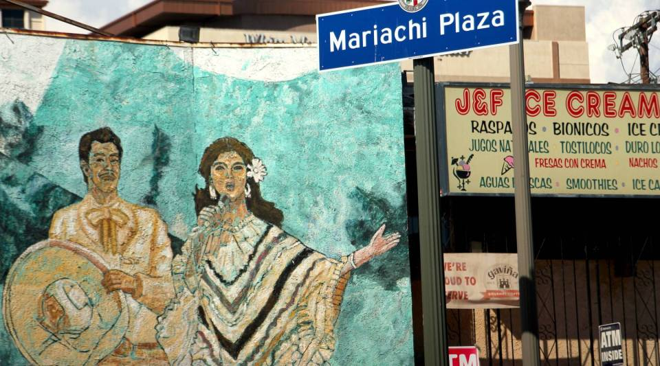 Mariachi Plaza and the larger Boyle Heights neighborhood have become the focal point for gentrification in Los Angeles.