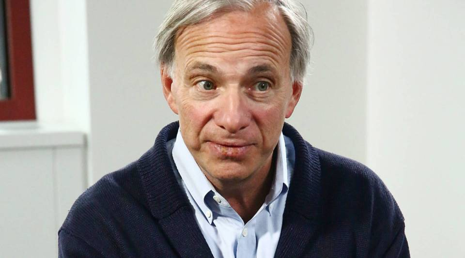 Ray Dalio, an American businessman and founder of the investment firm Bridgewater Associates.