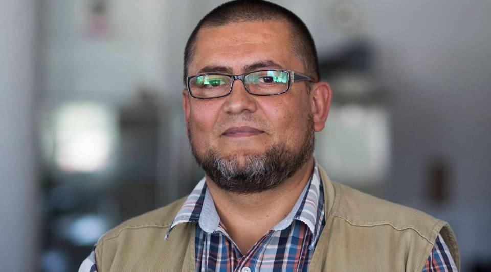 Ricardo Sánchez Carrillo with the Department of Bilingual Education in Michoacán, México.