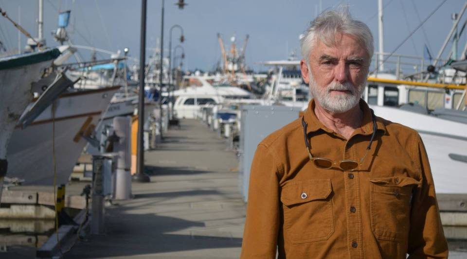 Kurt Beardslee, of the Wild Fish Conservancy, wants to end fish farming in Puget Sound.