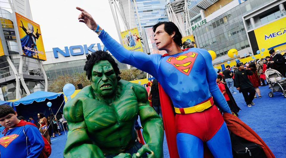 """Like the Incredible Hulk (Marvel) and Superman (DC), the comic book publishers have very different personalities. DC is more """"buttoned down"""" and Marvel is """"free flowing."""""""