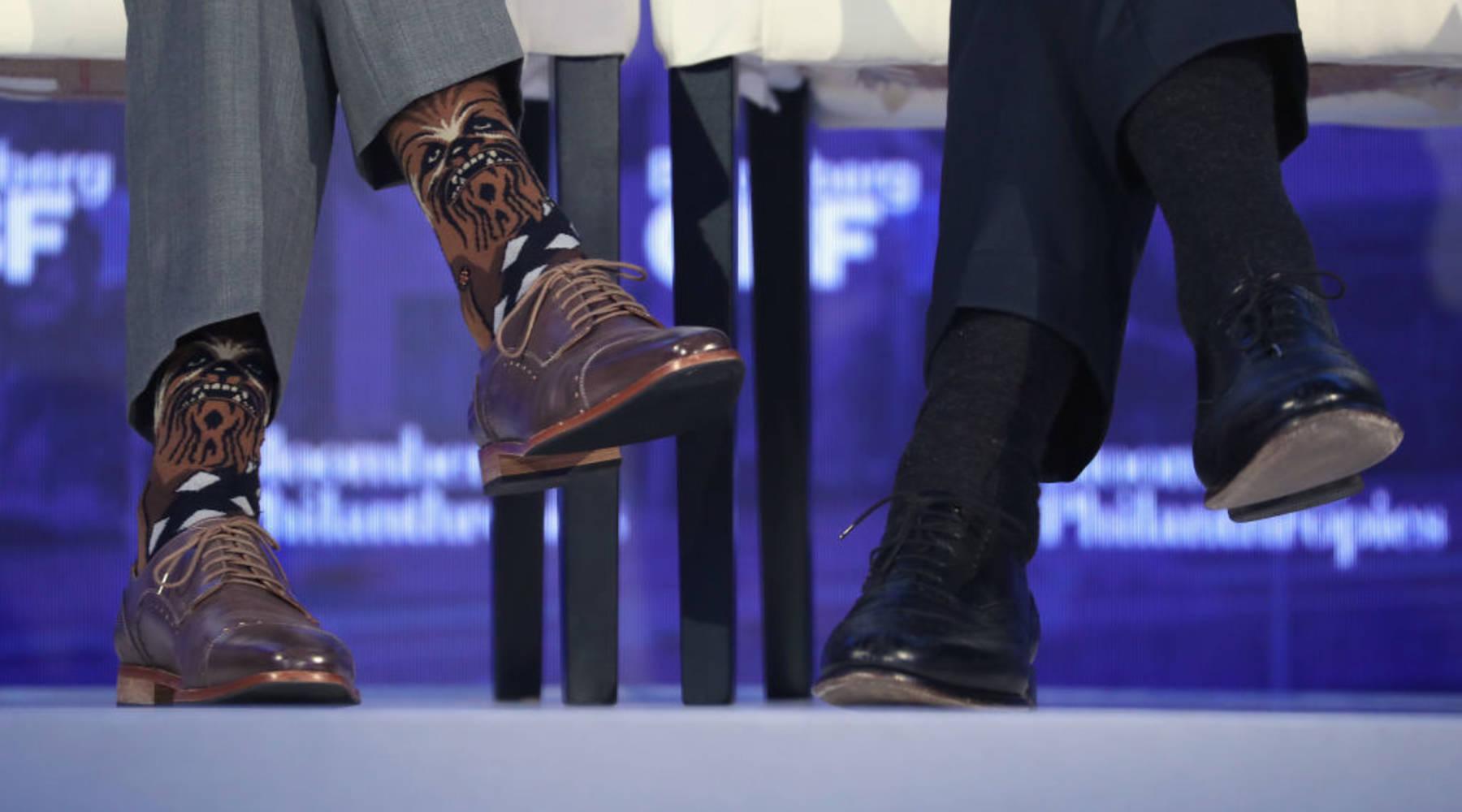 Investors put $110 million into a sock company  No, really