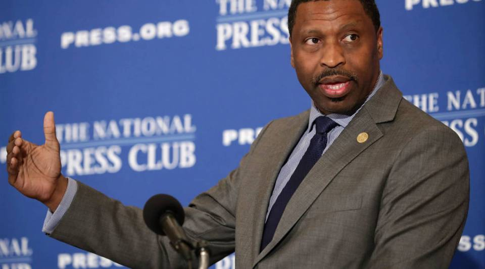 NAACP President Derrick Johnson says his organization has already spoken with an American Airlines vice president and wants to meet with the CEO.
