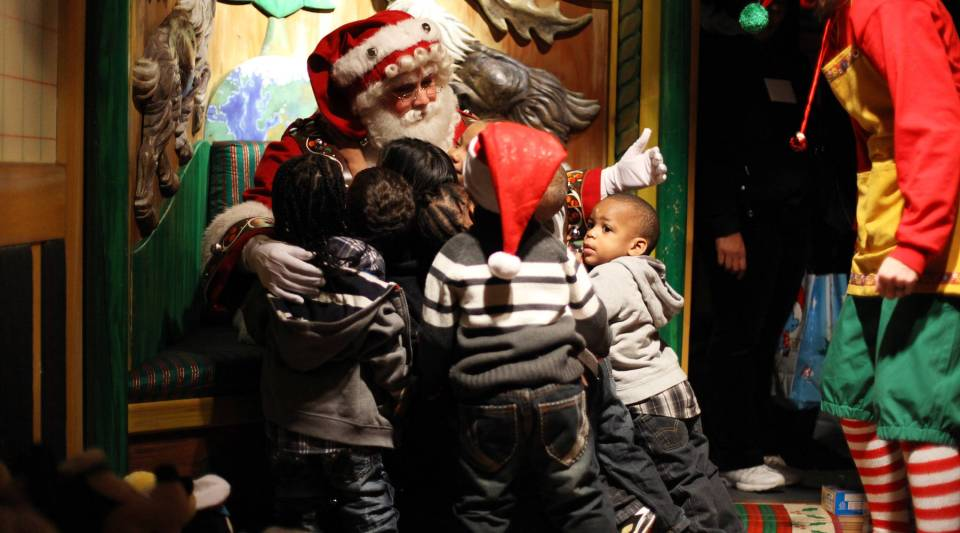 Before you head to Macy's this year, make sure to check if Santa can squeeze you in.