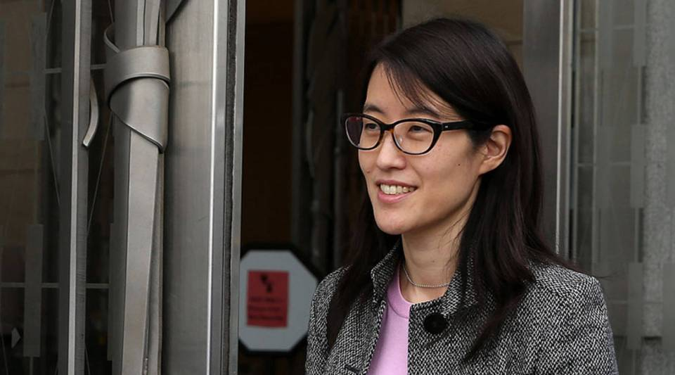 Ellen Pao, the interim CEO of Reddit, sued her former employer, Silicon Valley venture capital firm Kleiner Perkins Caulfield and Byers, for $16 million, alleging she was sexually harassed by male officials.