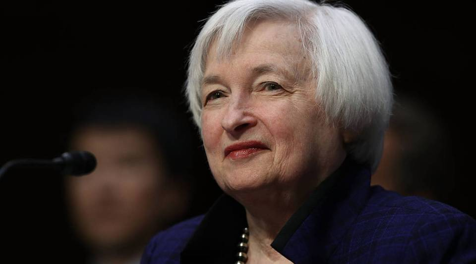 Federal Reserve Board Chairwoman Janet Yellen testifies before the Joint Economic Committee on Capitol Hill