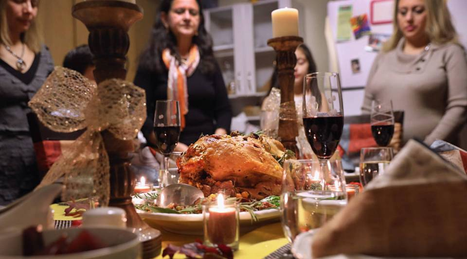 How much does that Thanksgiving feast cost?