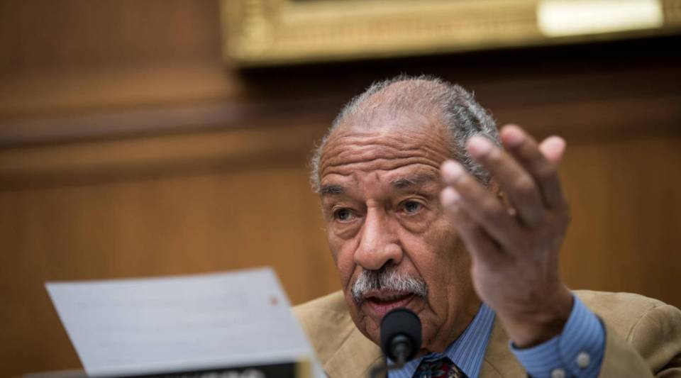 Rep. John Conyers of Michigan is the latest politician to be accused of sexual harassment.