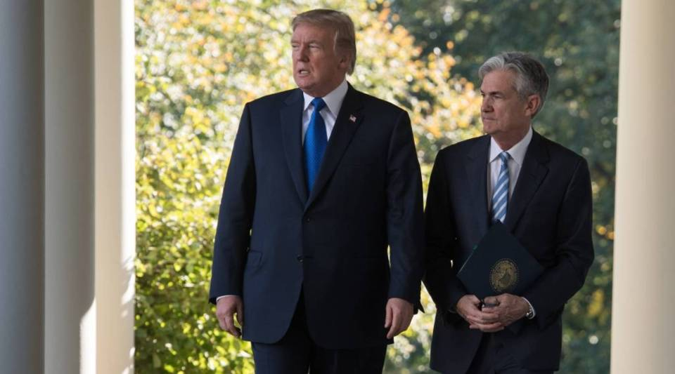 President Donald Trump nominated Jerome Powell for Federal Reserve chair.